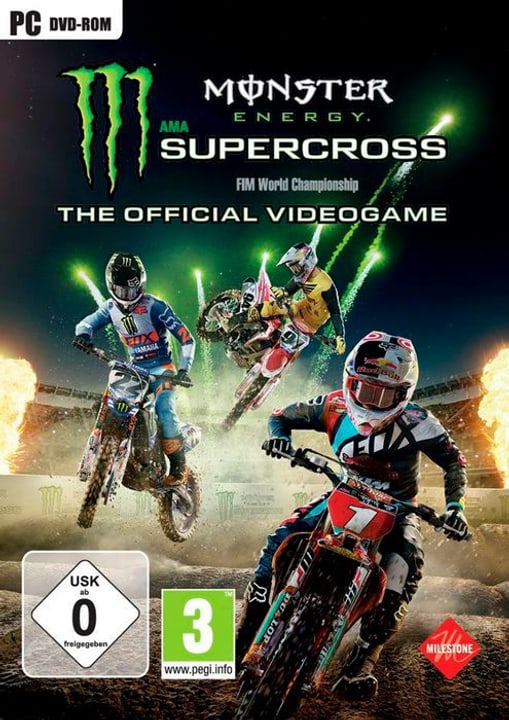 Monster Energy Supercross - The official Physisch (Box) 785300131240 Bild Nr. 1