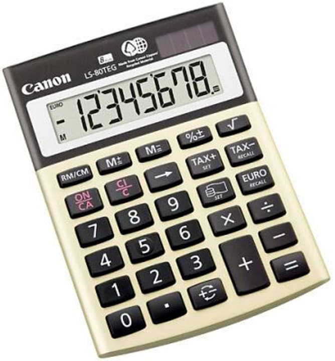 Calculatrice CA-LS80TE 8-chiffres Calculatrice Canon 785300151405 Photo no. 1