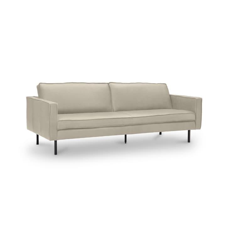 TEXADA divano in pelle da 3.5 posti 360020228602 Dimensioni L: 211.0 cm x P: 95.0 cm x A: 61.0 cm Colore Beige N. figura 1