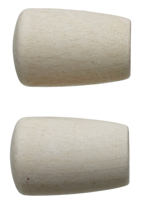 LEGNO BOTTO Terminali 430563800010 Colore Bianco Dimensioni L: 50.0 mm x P: 26.0 mm N. figura 1