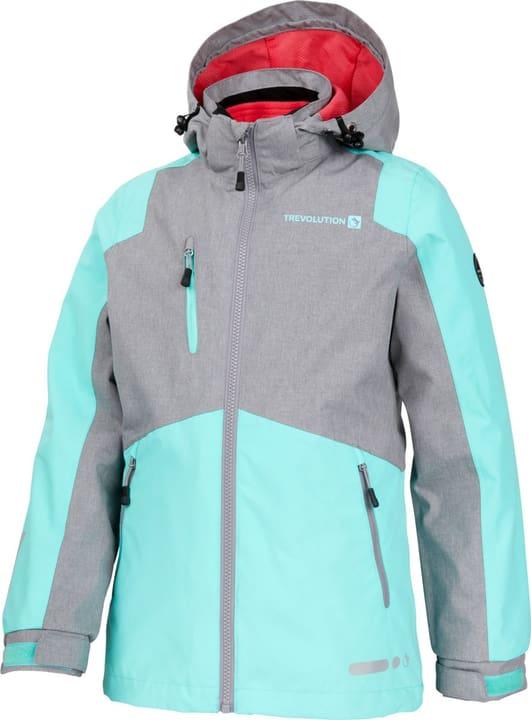 Veste de trekking pour fille Trevolution 466927112280 Couleur gris Taille 122 Photo no. 1