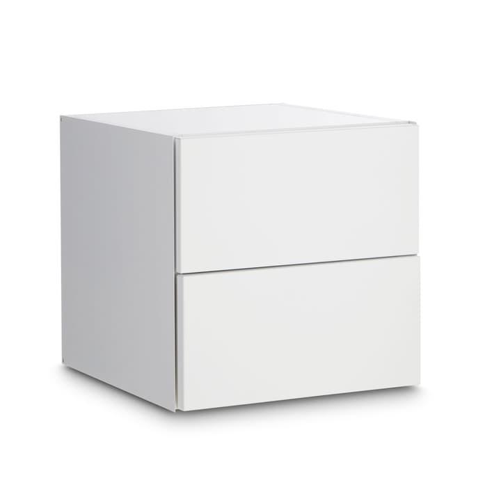 LEVY Cassettone 362016731402 Dimensioni L: 35.0 cm x P: 37.0 cm x A: 35.0 cm Colore Bianco N. figura 1