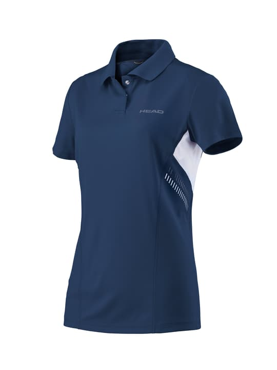 Club Technical Polo Shirt W Polo pour femme Head 473218800443 Couleur bleu marine Taille M Photo no. 1