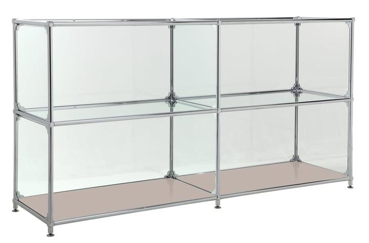 FLEXCUBE Sideboard 401814220288 Grösse B: 152.0 cm x T: 40.0 cm x H: 80.5 cm Farbe Taupe Bild Nr. 1