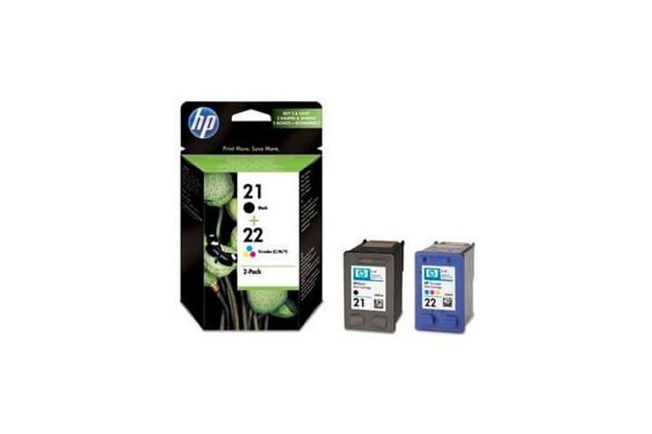 SD367AE Combopack Tintenpatronen Nr. 1/22 back/color Tintenpatrone HP 797511800000 Bild Nr. 1