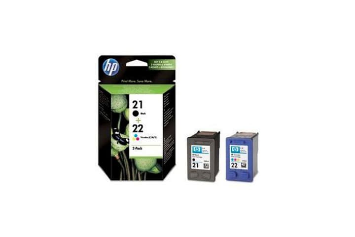 SD367AE Combopack cartouches d'encre nr. 21/22 back/color Cartouche d'encre HP 797511800000 Photo no. 1
