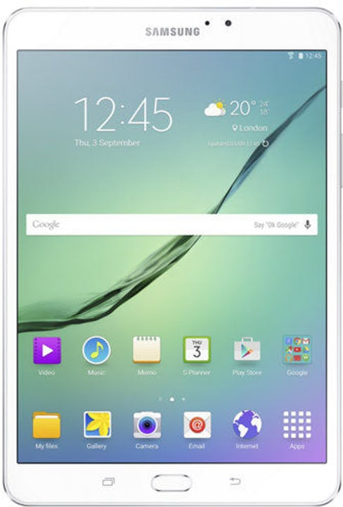 Galaxy Tab S2 T713 white Samsung 785300129084 Photo no. 1
