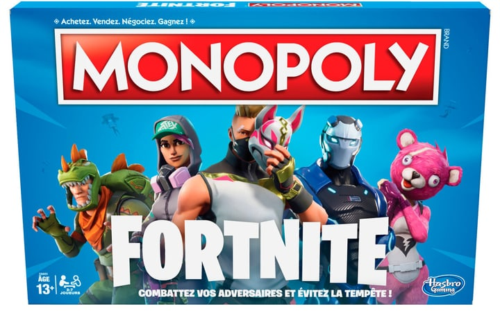 Monopoly Fortnite (FR) 748957590100 Langue Français Photo no. 1