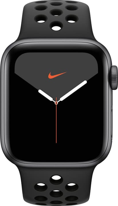 Watch Nike Series 5 LTE 40mm space gray Aluminium Anthracite Black Nike Sport Band Smartwatch Apple 785300146964 Photo no. 1