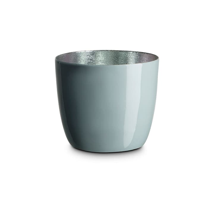 LEBIA Teelichthalter 396090700000 Grösse B: 10.0 cm x T: 10.0 cm x H: 8.5 cm Farbe Hellblau Bild Nr. 1