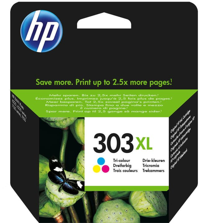 303XL cartucce a getto d'inchiostro color HP 798543300000 N. figura 1