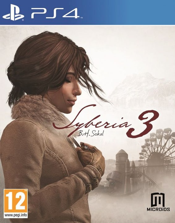 PS4 - Syberia 3 Box 785300122242 Photo no. 1