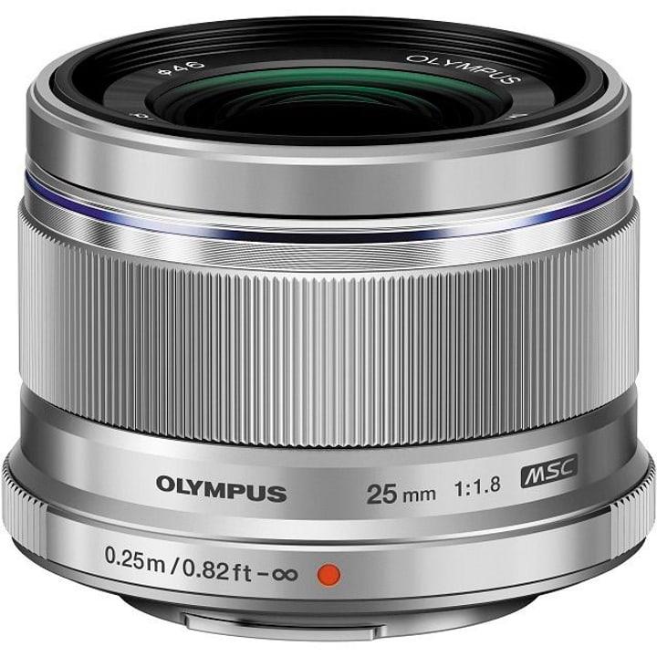 m.Zuiko Digital 25mm 1:1.8 argent Objectif Olympus 785300125780 Photo no. 1