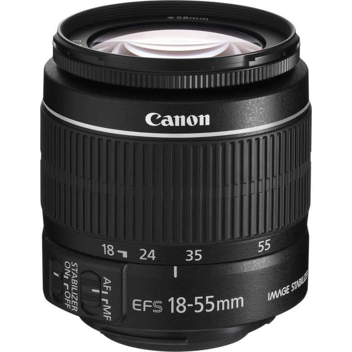 EF-S 18-55mm f/4-5.6 IS STM Objektiv Canon 785300129923 Bild Nr. 1