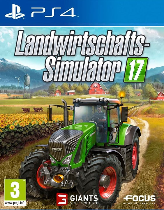 PS4 - Landwirtschafts-Simulator 17 Physique (Box) 785300121195 Photo no. 1