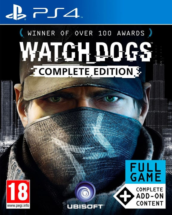 PS4 - Watch Dogs Complete Edition Fisico (Box) 785300120904 N. figura 1
