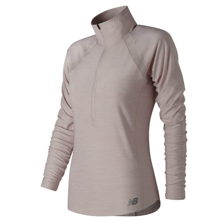 ANTICIPATE HALF ZIP Damen-Langarmshirt New Balance 470154900310 Farbe weiss Grösse S Bild-Nr. 1