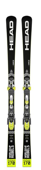 WC Rebels iRace inkl. Freeflex EVO 14 On Piste Ski inkl. Bindung Head 464306916520 Farbe schwarz Länge 165 Bild-Nr. 1