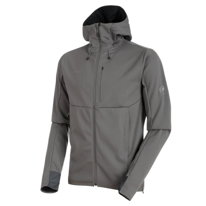Ultimate Hood Veste softshell pour homme Mammut 462779000583 Couleur gris foncé Taille L Photo no. 1