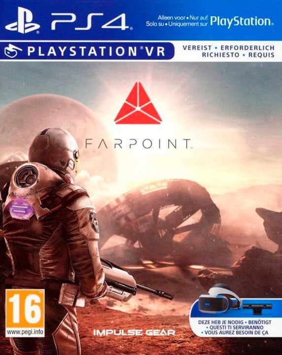 PS4 VR - Farpoint VR 785300122181 Photo no. 1