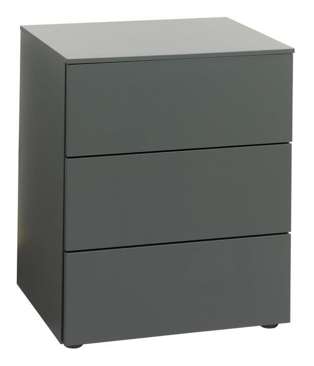 TRESOR Table de chevet 404433085080 Dimensions L: 50.0 cm x P: 41.0 cm x H: 60.0 cm Couleur Gris Photo no. 1