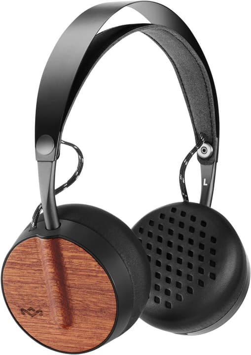 Buffalo Soldier Bluetooth - Signature Black Cuffie On-Ear House of Marley 785300132077 N. figura 1