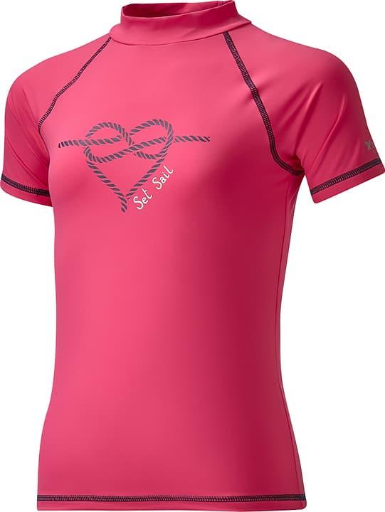 T-shirt de bain U.V.P. pour fille Extend 464525612817 Couleur framboise Taille 128 Photo no. 1