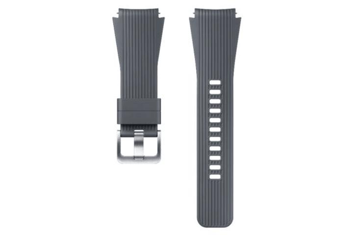 Galaxy Watch (46 mm) Silicone Band 22mm argent Bracelet Samsung 785300138256 Photo no. 1