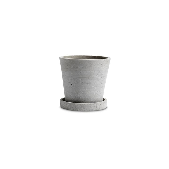 FLOWER POT / S Cache-pot HAY 382075200000 Dimensions H: 10.5 cm Couleur Gris Photo no. 1