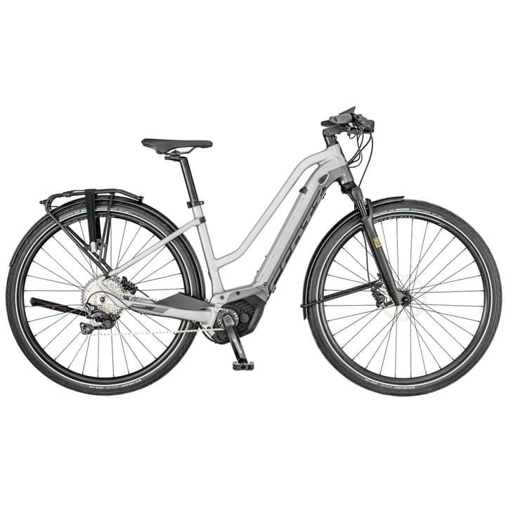 Silence eRide 10 E-Trekkingbike Scott 463349000587 Rahmengrösse L Farbe silberfarben Bild Nr. 1