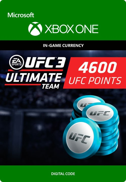 Xbox One - UFC 3: 4600 UFC Points Download (ESD) 785300135555 N. figura 1