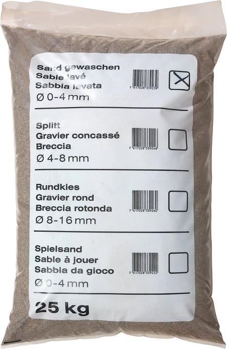 Palette 40 Sand gewaschen, 25 kg 647519900000 Bild Nr. 1