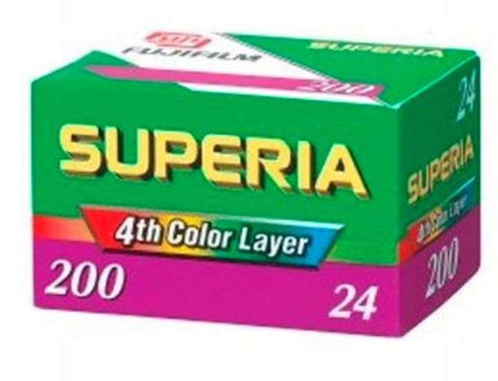 Superia 200 135-24 Pellicule photo FUJIFILM 785300126217 Photo no. 1