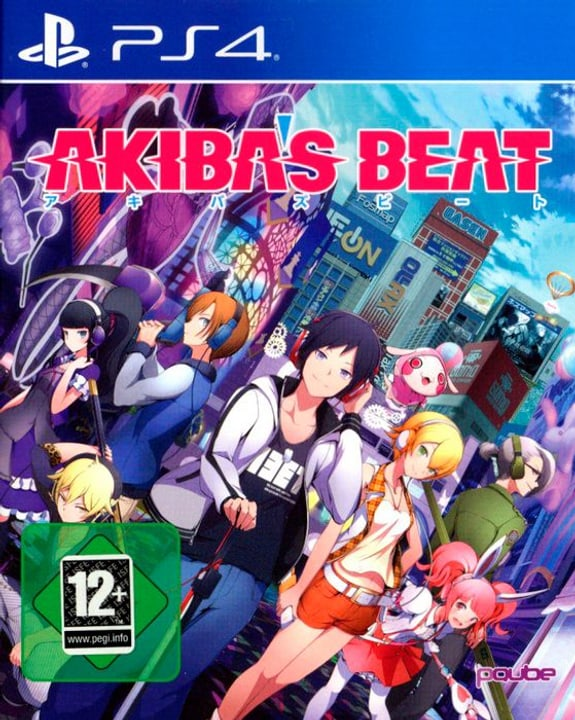 PS4 - Akiba's Beat Fisico (Box) 785300122514 N. figura 1