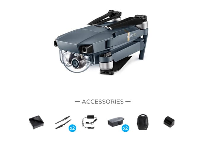 Mavic Pro Fly More Bundle Drone Dji 793821900000 Photo no. 1