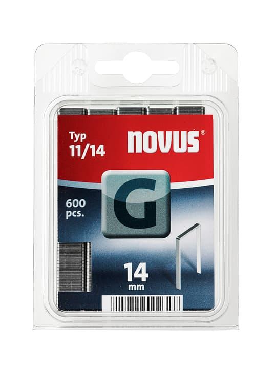 Graffe in filo basso G Typ 11/14 NOVUS 601258000000 Taglio 14 mm / 600x N. figura 1
