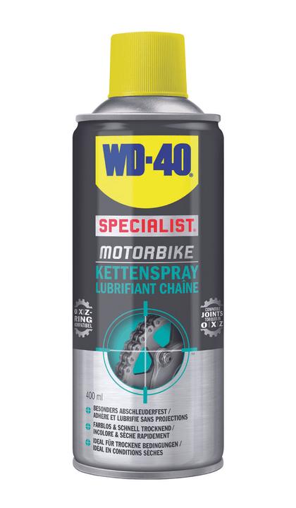 Spray per catene Prodotto per la cura WD-40 Specialist Motorbike 620217900000 N. figura 1