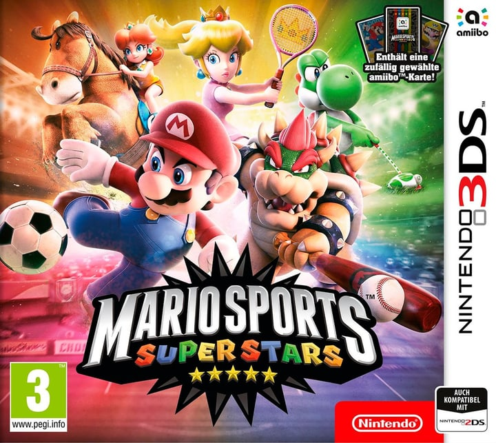 3DS - Mario Sports Superstars + amiibo-Karte 785300121798