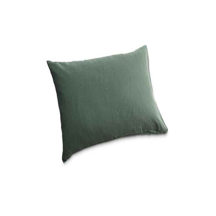 LINEN Kissenbezug 376020512502 Farbe Tannengrün Grösse L: 65.0 cm x B: 65.0 cm Bild Nr. 1