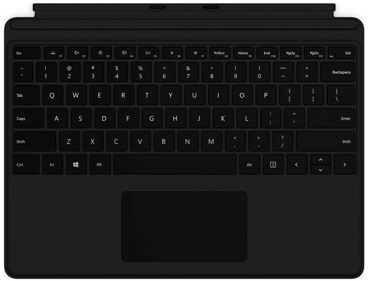 Surface Type Cover Pro X noir Clavier Microsoft 785300149570 Photo no. 1