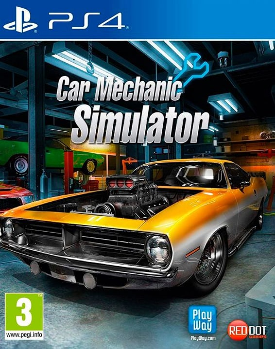 PS4 - Car Mechanic Simulator I Box 785300144307 Photo no. 1