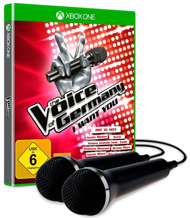 Xbox One - The Voice of Germany - I want you - inkl. 2 Mikros 785300121732