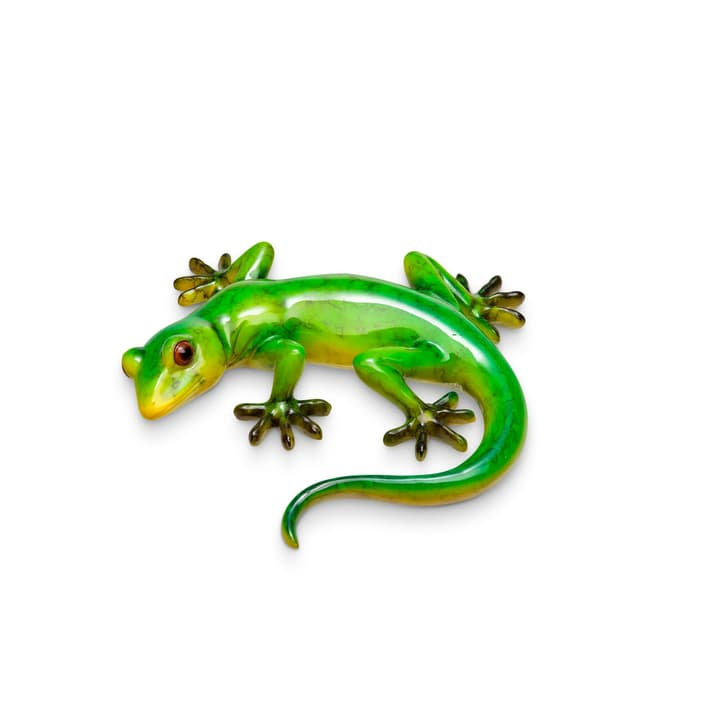 ANFIBIO Deko Gecko 382022800000 Grösse B: 18.0 cm x T: 18.0 cm x H: 4.0 cm Farbe Grün Bild Nr. 1