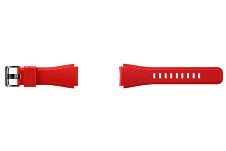 Gear S3 Active Silicone Band rouge Samsung 798082500000 Photo no. 1