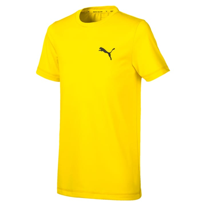 Active Tee B Knaben-T-Shirt Puma 466908112850 Farbe gelb Grösse 128 Bild-Nr. 1