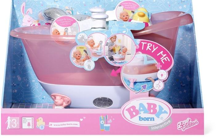 Zampf Baby Born Baignoire interactive avec fonction douche 746529500000 Photo no. 1