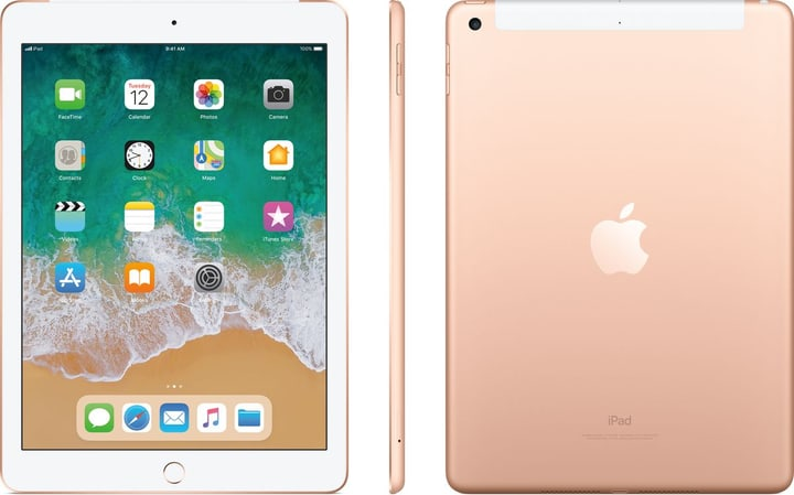 iPad Education LTE 128GB gold Tablet Apple 798434800000 N. figura 1