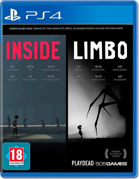 PS4 - Inside / Limbo Box 785300129940 Photo no. 1