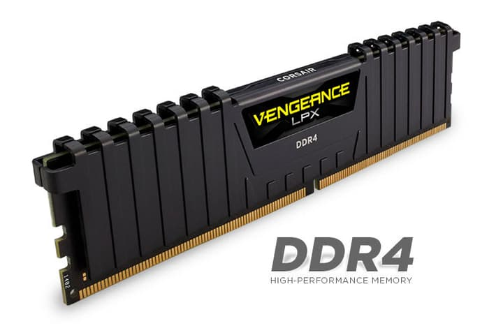 mémoire vive (RAM) Vengeance LPX noir 2x 8Go DDR4 2666 MHz Corsair 785300129187 Photo no. 1