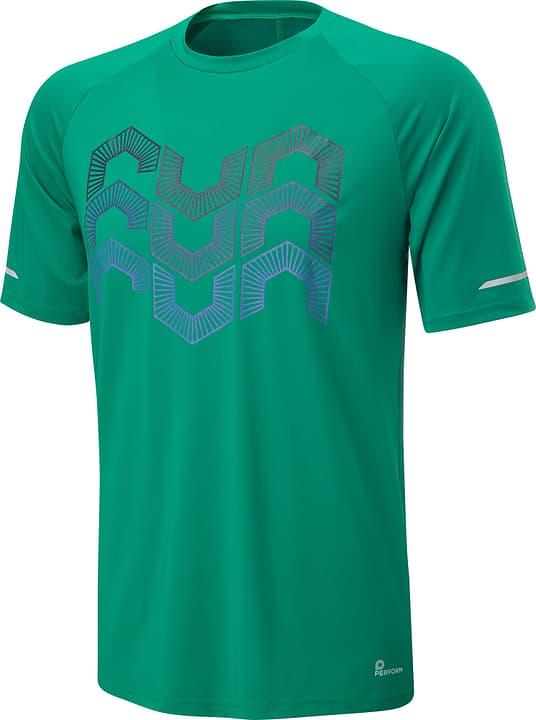 Shirt pour homme Perform 470174300660 Couleur vert Taille XL Photo no. 1